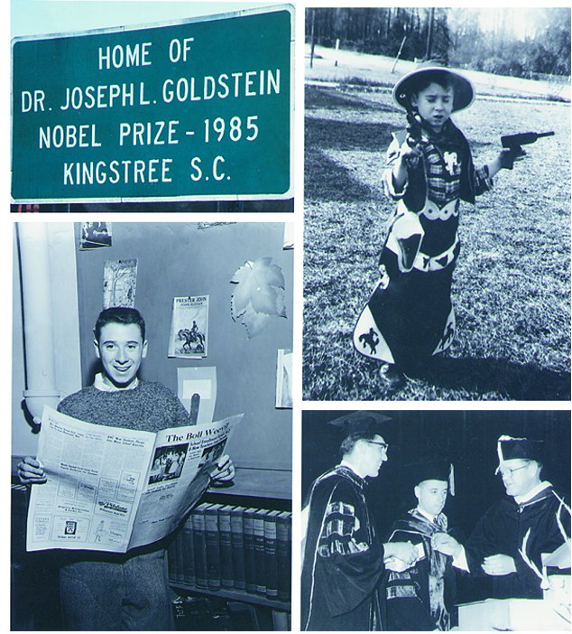 Joe Goldstein, a native of Kingstree, South Carolina, shown as a young  ...