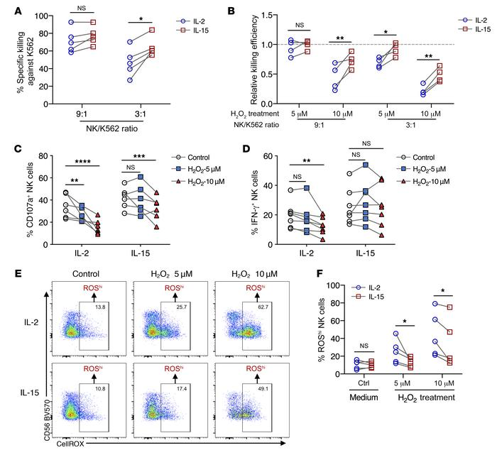 IL-15–primed NK cells mount a superior immune response under oxidative s...