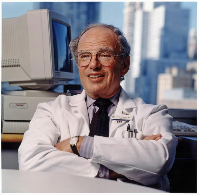Paul A. Marks, MD, led Memorial Sloan Kettering Cancer Center from 1980-...