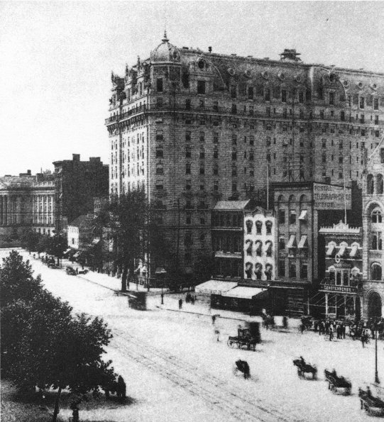 The New Willard Hotel in Washington, DC, site of the first ASCI meeting ...