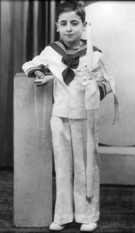 François M. Abboud, First Communion, May 26, 1938.