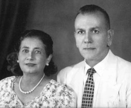 Asma and Mitry Abboud, Frank Abboud's parents.