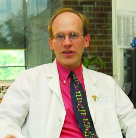 James Evans, MD, PhD, is a medical geneticist at the University of North...