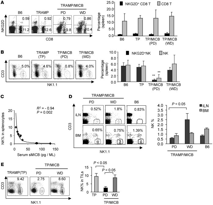 Prostate carcinoma progression is associated with sMICB-induced impairme...