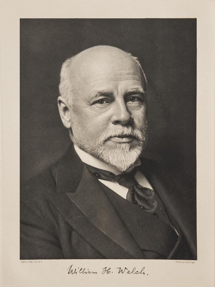 William Henry Welch. Image credit: US National Library of Medicine.